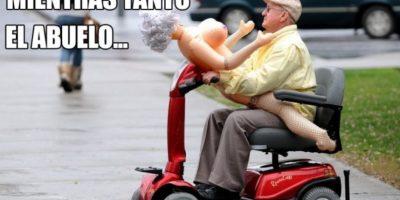OMG! Foto:Tublr.com/Tagged/abuelo-gracioso