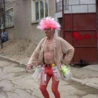 Un abuelo extravagante Foto:Reddit