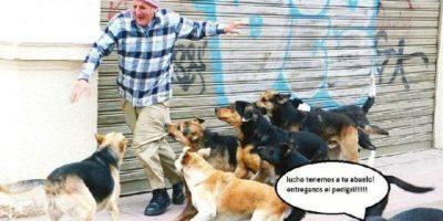 ¡Cuidado abuelo! Foto:Tublr.com/Tagged/abuelo-gracioso