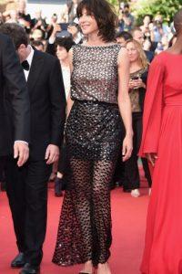Sophie Marceau sorprende por su aspecto, pero luce mejor que muchas. Foto:vía Getty Images