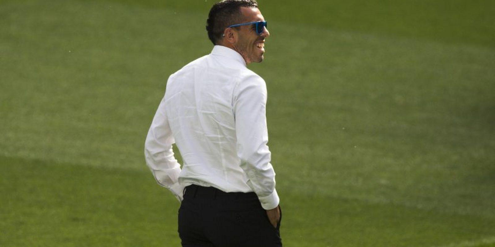 """Así pisaron los futbolistas de la """"Juve"""" el césped del Bernabéu Foto:Getty Images"""