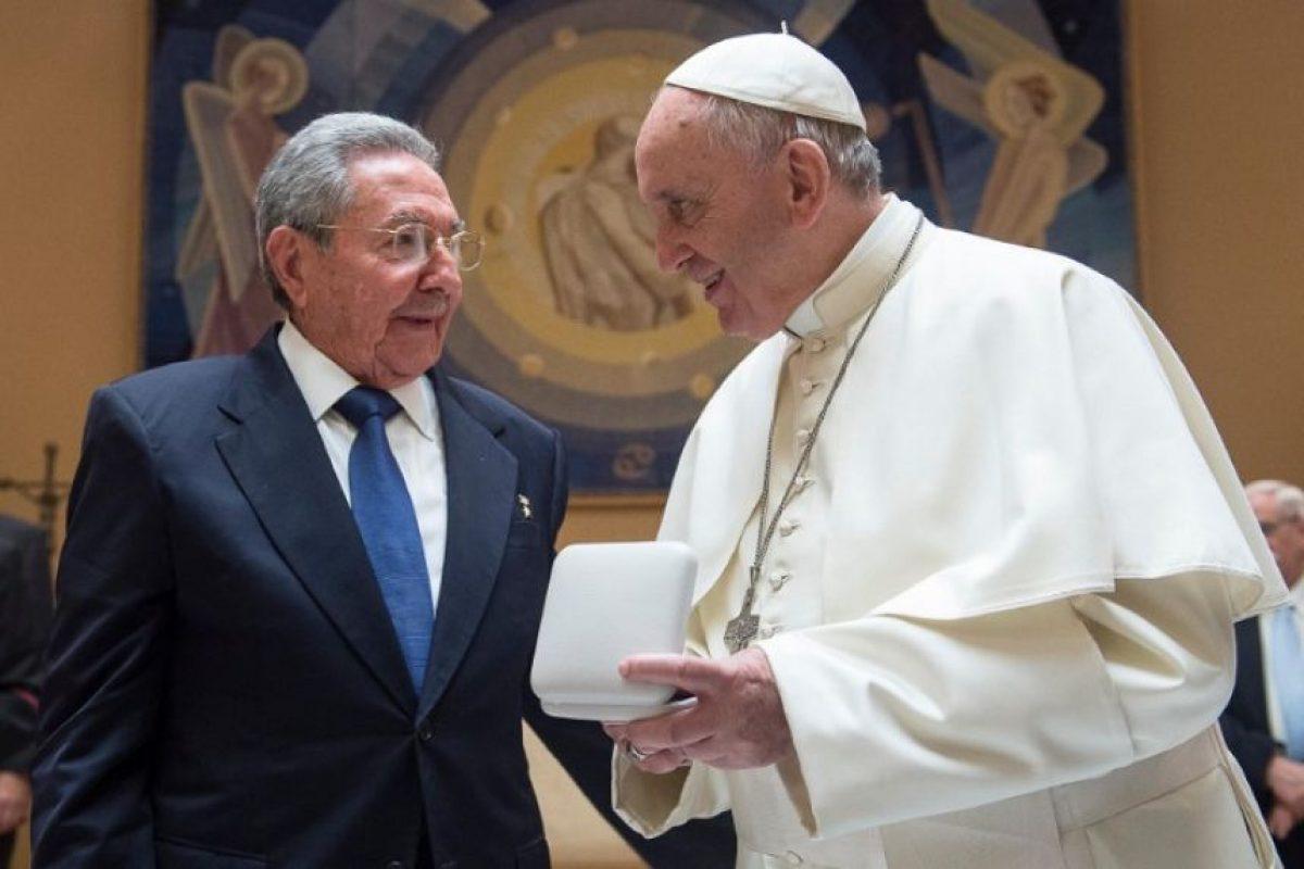 Francisco visitará ambos países en septiembre próximo. Foto:AFP