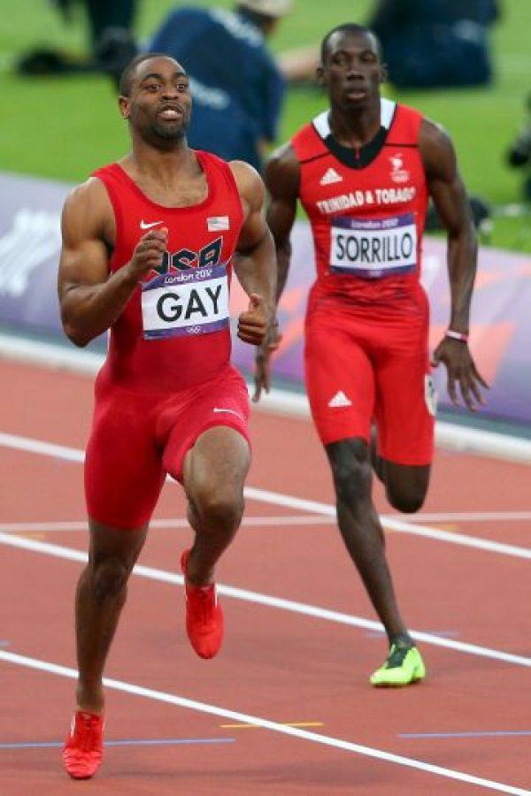 Y el de Jamaica por Nesta Carter, Michael Frater, Yohan Blake y Usain Bolt. Foto:Getty Images