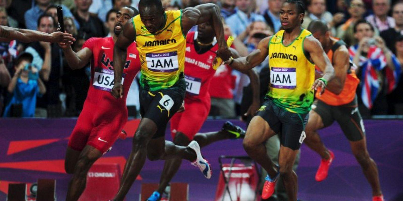 Jamaica se llevó el oro con un tiempo de 36.84 y Estados Unidos, la plata, con 37.04. Foto:Getty Images