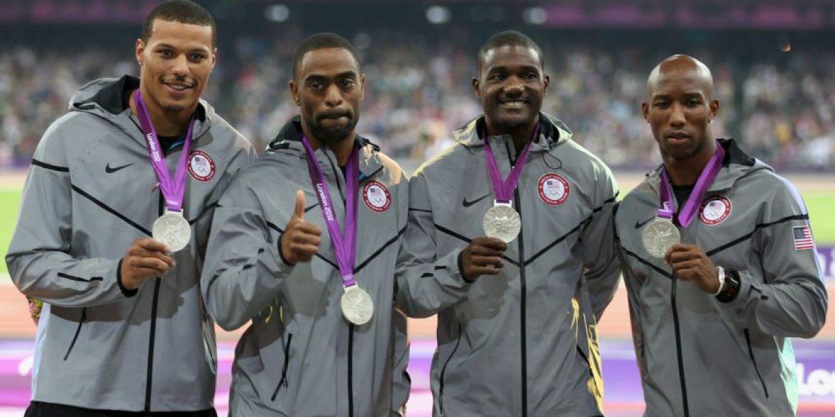 Tyson Gay le quita medallas olímpicas a Estados Unidos por caso de dopaje