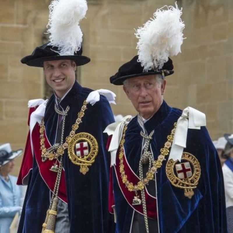 4. Su nombre completo es Charles Philip Arthur George. Foto:Getty Images