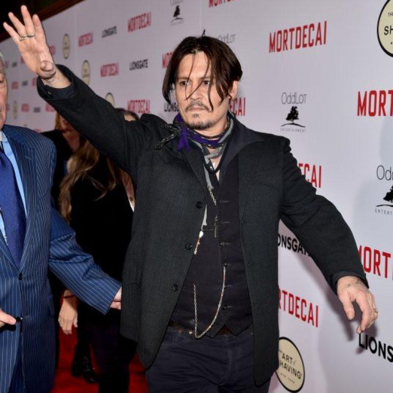 Debido a que el actor no registró su ingreso a ese país Foto:Getty Images