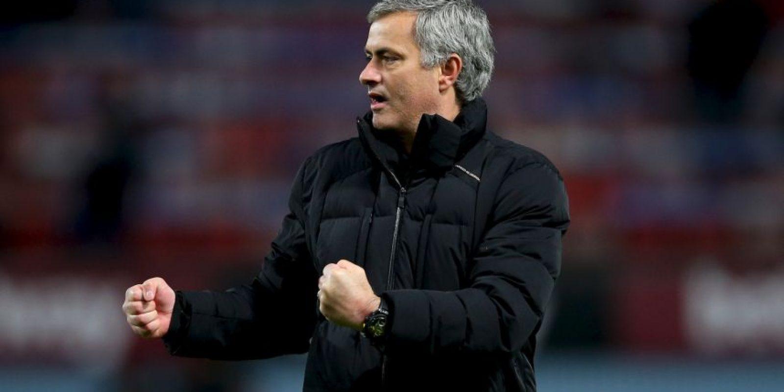 El entrenador portugués consiguió un doblete esta temporada: la Copa de la Liga y la Premier League en Inglaterra. Foto:Getty Images