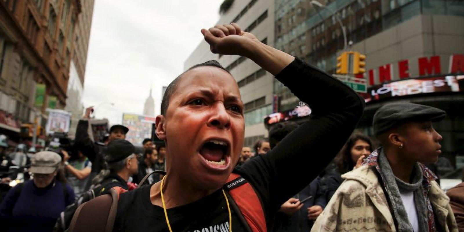 El incidente es el último de una serie de muertes muy publicitadas que implican agentes de policía. Foto:Getty Images
