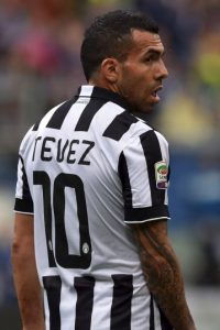 4. 7 goles tiene el argentino Carlos Tévez, máximo goleador del equipo en el certamen Foto:Getty Images