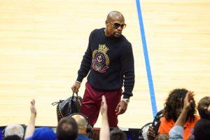 """""""Money"""" asegura que ver baloncesto profesional lo ayuda a relajarse. Foto:Getty Images"""