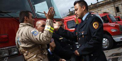 El Comisario Alejandro Lince fue el primer comandante del Cuerpo de Bomberos del país. Foto:Juan Pablo Pino / Publimetro