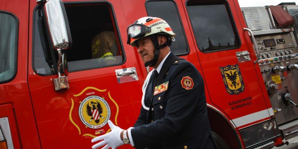 Bomberos de Bogotá celebran por todo lo alto sus 120 años