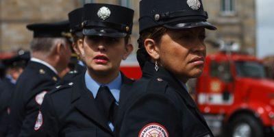 Desde hace 40 años las mujeres hacen parte del cuerpo de Bomberos de la ciudad. Foto:Juan Pablo Pino / Publimetro