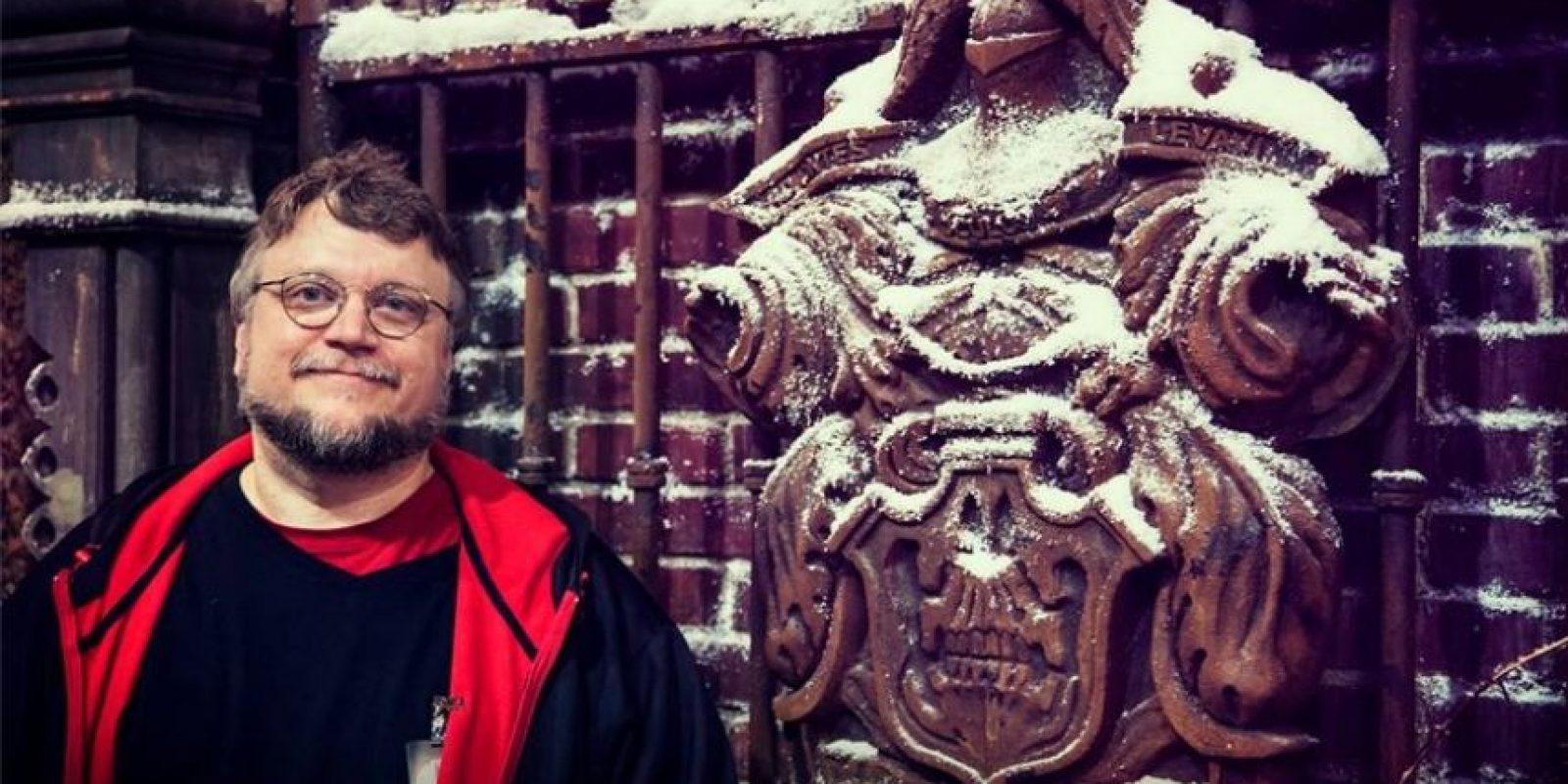 Guillermo del Toro es un director, guionista y novelista mexicano Foto:Facebook/CrimsonPeak