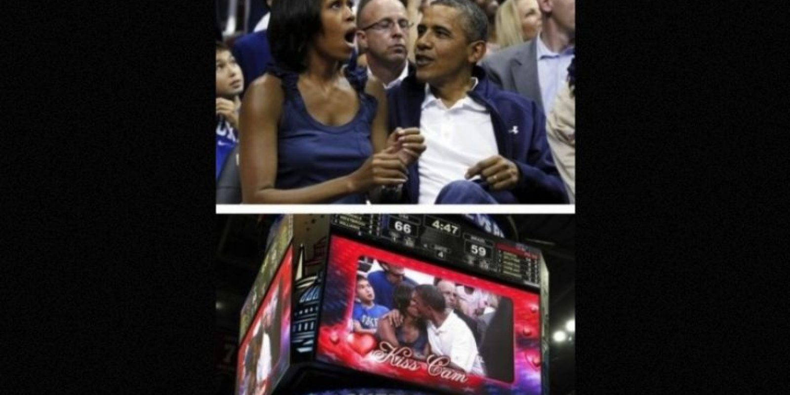 Barack y Michelle Obama Foto: Pinterest.com