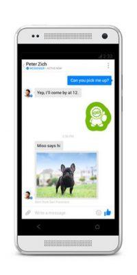Presentada en 2011, se trata de la aplicación para móviles del chat de Facebook con el que pueden platicar con sus amigos que tienen agregados en la red social. Foto:Facebook