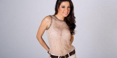 Tamara Vargas, presentadora de la Alfombra roja de los Billboard. Foto:Prensa