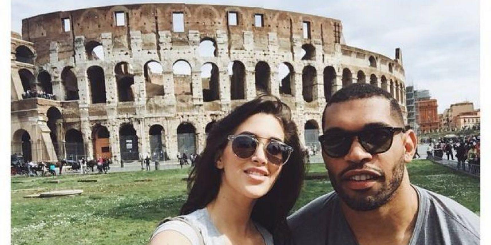 Claudia Sampedro, modelo cubana, está casada con el defensivo de la NFL Julius Peppers Foto:Twitter / @claudiasampedro