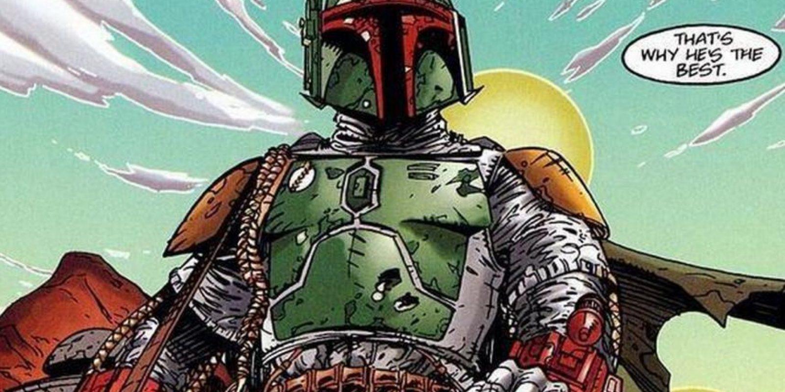 """""""Boba Fett"""" nació en el planeta Kamino, donde vivió hasta sus diez años Foto:twitter.com/comics_off"""