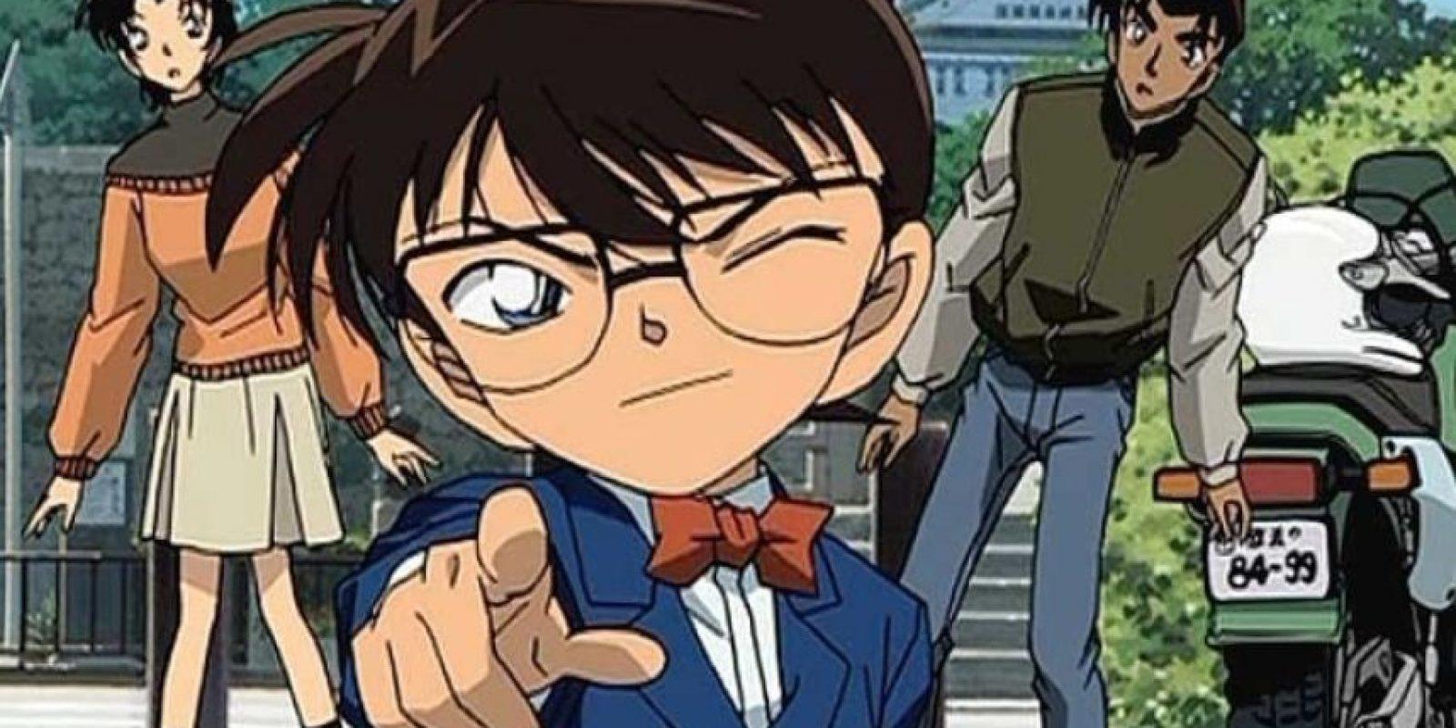 La historia todavía no termina (así que no tendrán el placer de ver a Shinichi/Conan) como adulto otra vez. Fue creada por Gosho Aoyama y comenzó en 1994. Foto:vía Tokyo Movie Shinsha
