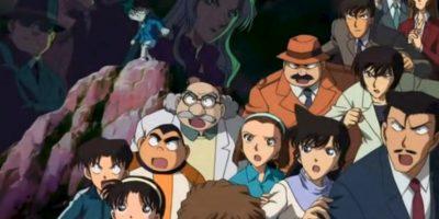 """Los personajes residen en el distrito ficticio de Beika, adaptación de la """"Bake Street"""", calle donde vivía Sherlock Holmes. Foto:vía Tokyo Movie Shinsha"""