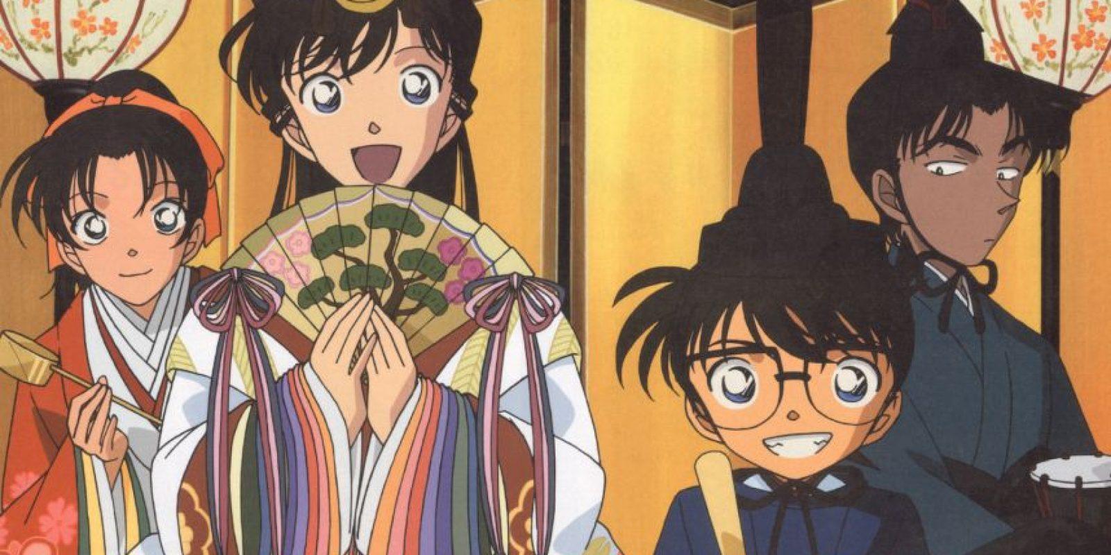 El disfraz de Kaito Kid es igual al de Moriarty (otro famoso enemigo de Sherlock Holmes) en el anime Sherlock Hound. Foto:vía Tokyo Movie Shinsha