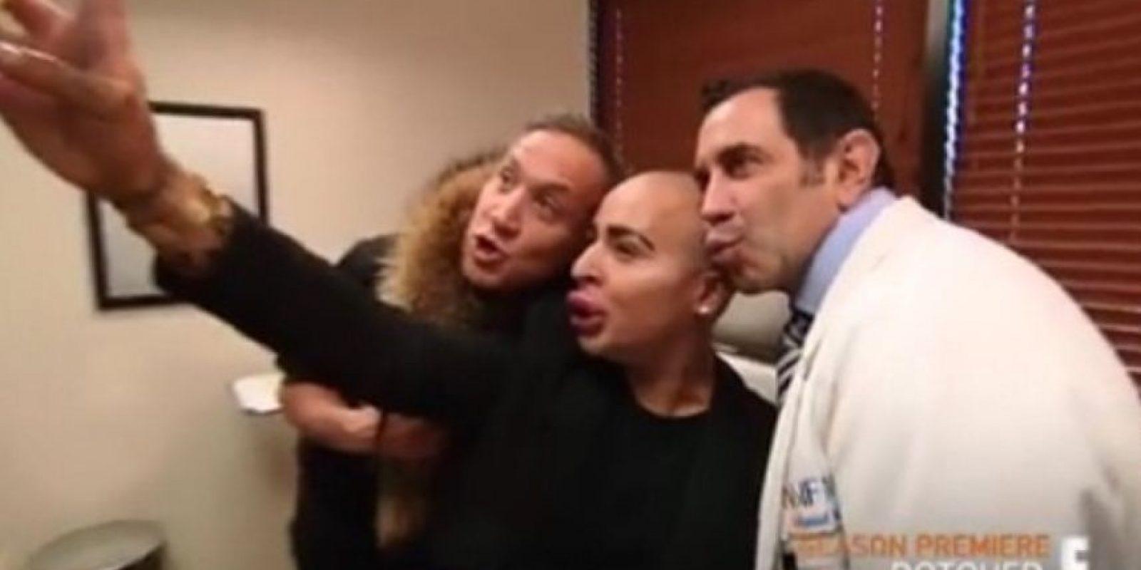 """Salió en el programa """"Botched"""", programa donde muestran a los adictos a las cirugías plásticas. Foto:vía Instagram/ Jordan James Parke"""