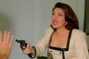 """Todos recuerdan a Soraya Montenegro, de """"María la del Barrio"""", interpretada por Itatí Cantoral. Foto:vía Canal de las Estrellas"""