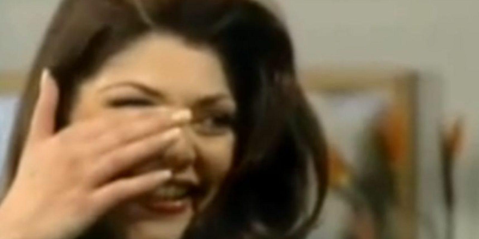 Soraya, como buena villana, también usa maquillaje dramático. Siempre. Foto:vía Canal de las Estrellas