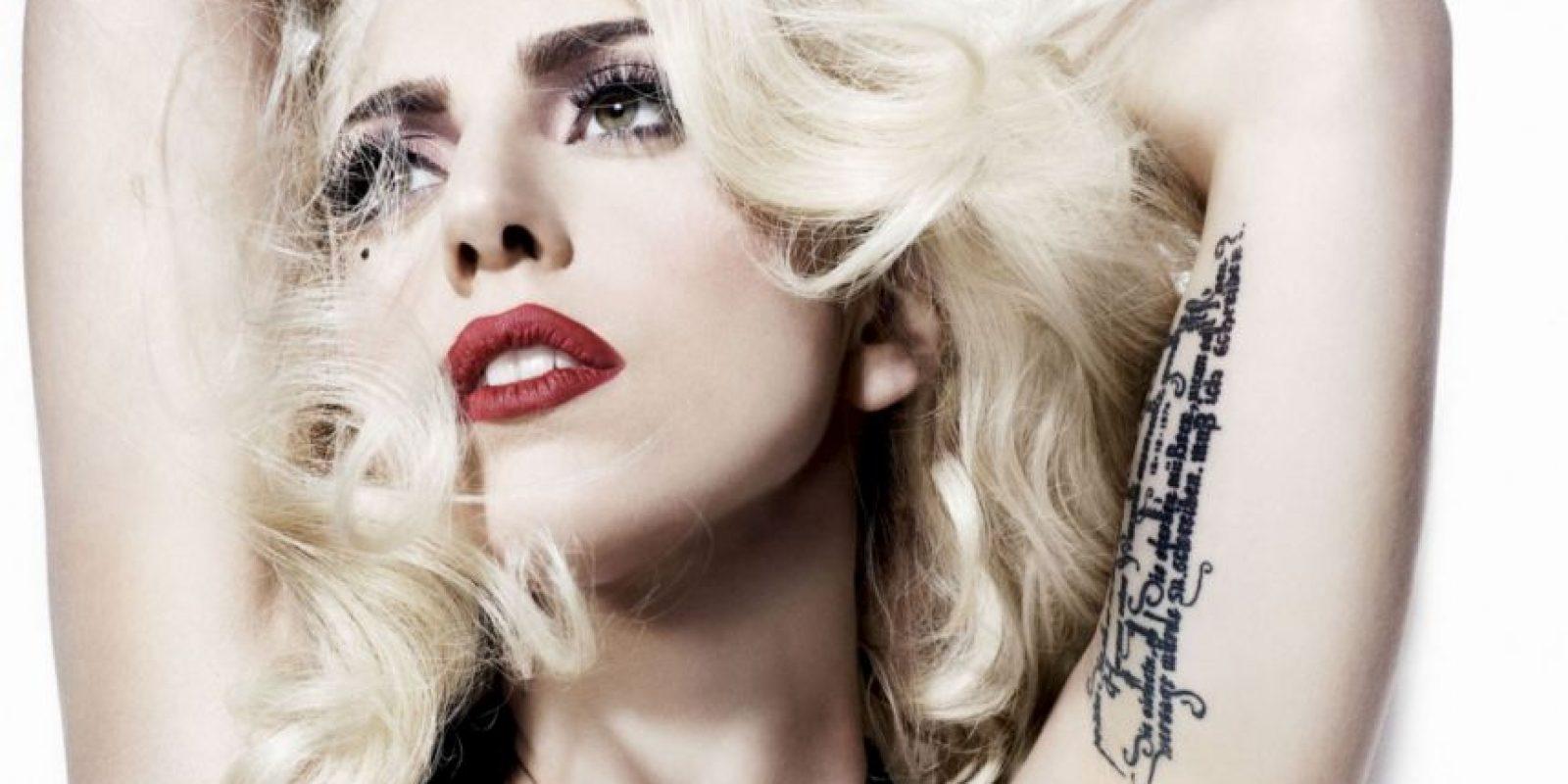 Lady Gaga es buena en eso. Foto:vía Lady Gaga/Facebook