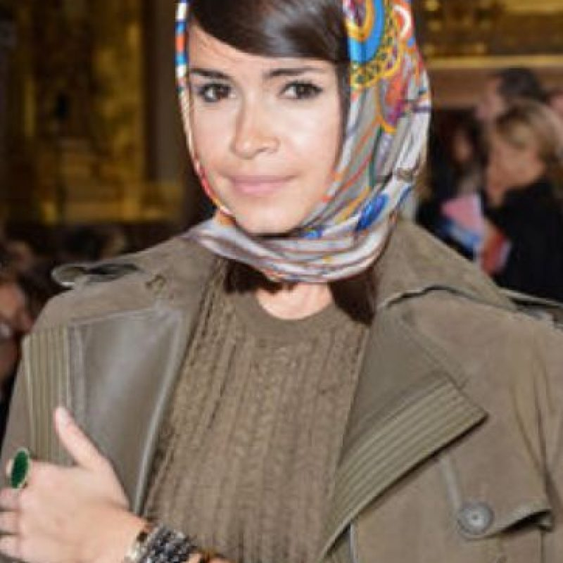La que más se asemeja es la fashionista Miroslava Duma. Foto:vía Getty Images