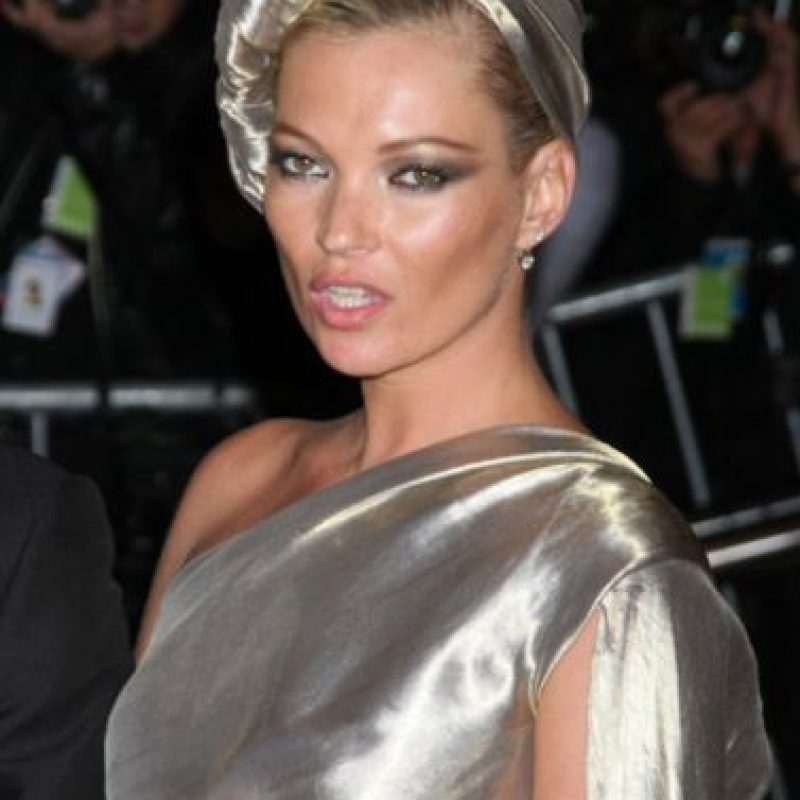 También Kate Moss. Foto:vía Getty Images