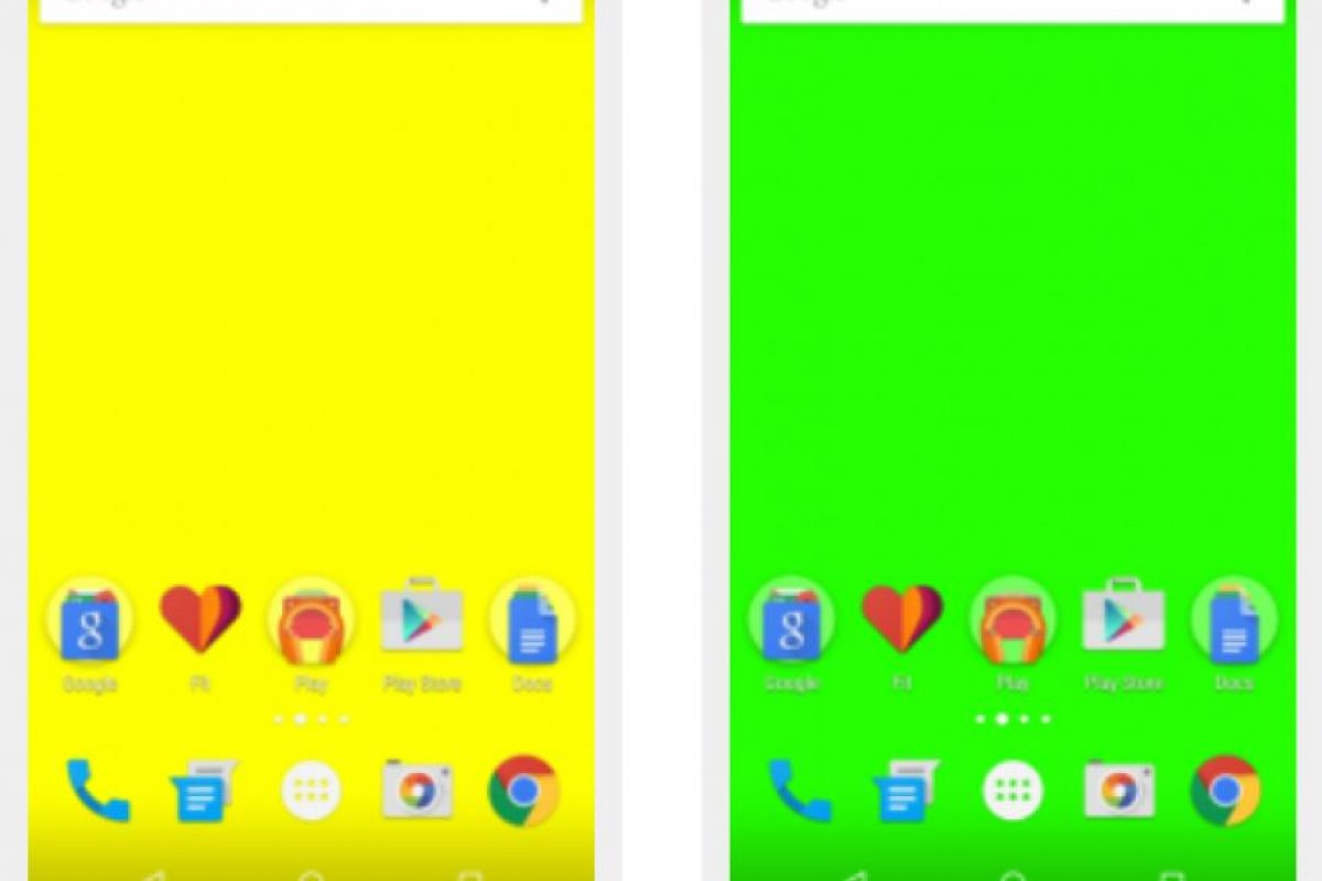 Rojo significa sin señal; azul poca señal; amarillo buena señal y verde es una excelente señal Foto:OpenSignal, Inc