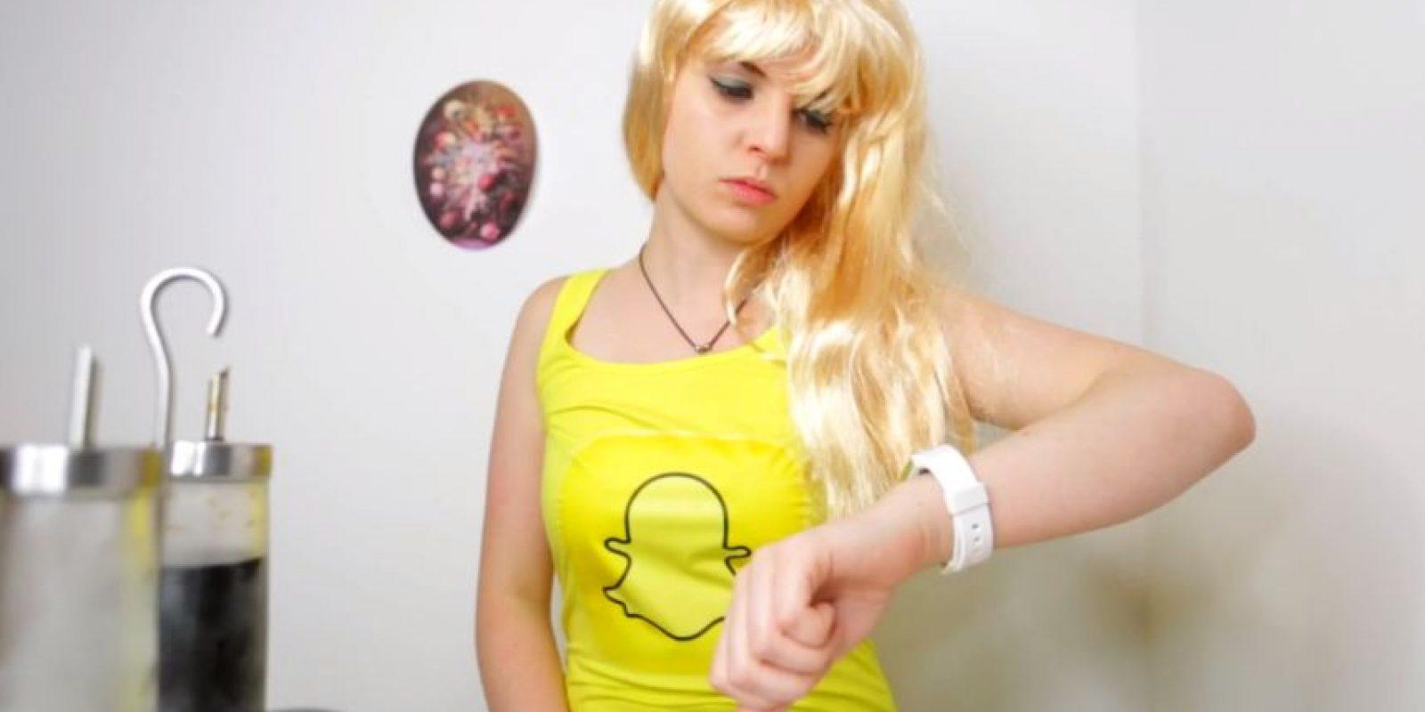 Snapchat, la red fugas, desaparecería mucho antes de poder hablar seriamente con ella Foto:emmablackery