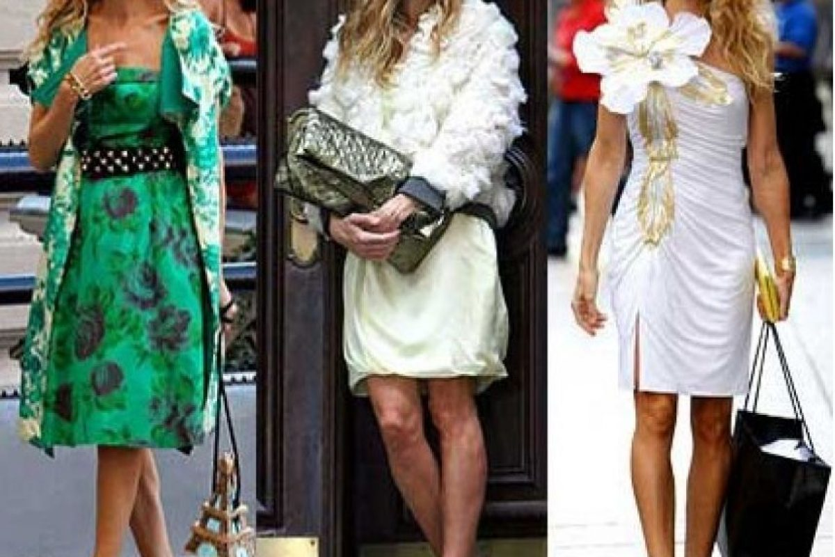 Sandalia gladiadores de Dior, un clásico del personaje Foto:HBO