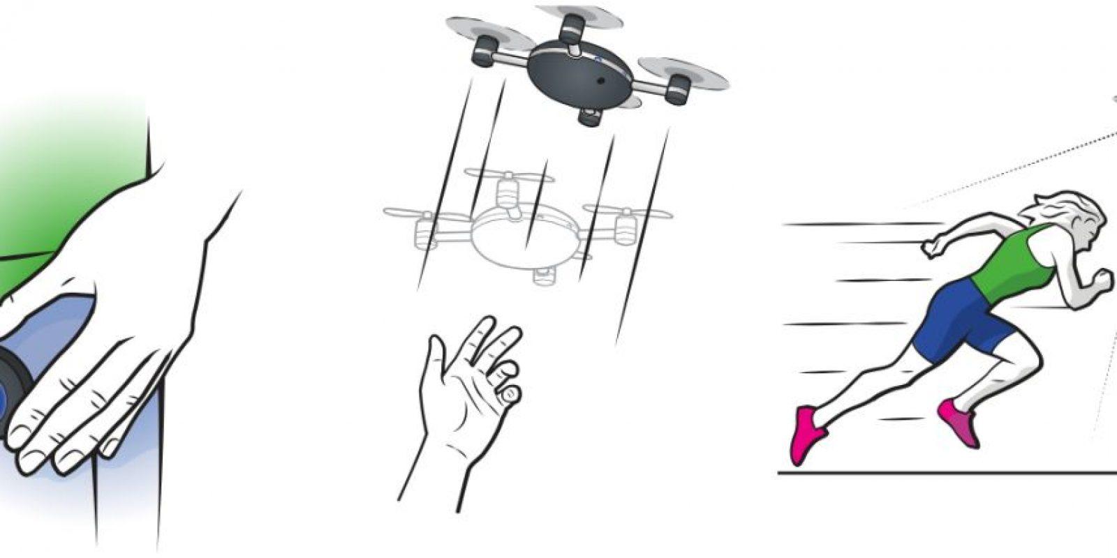 Estos son los tres sencillos pasos para que el dron funcione Foto:lily.camera
