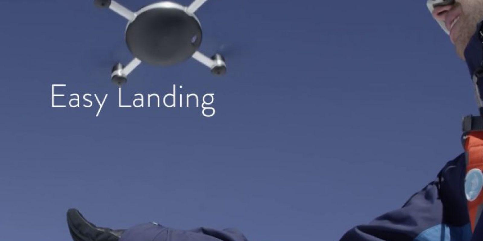 """El concepto de este aparato comenzó a desarrollarse en un drone británico especial llamado """"Zano"""" Foto:lily.camera"""