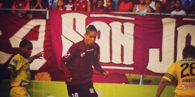 """Su apodo es el """"Chino"""" y juega en el Carabobo FC de la Primera División de Venezuela. Foto:Vía instagram.com/davidocanto"""