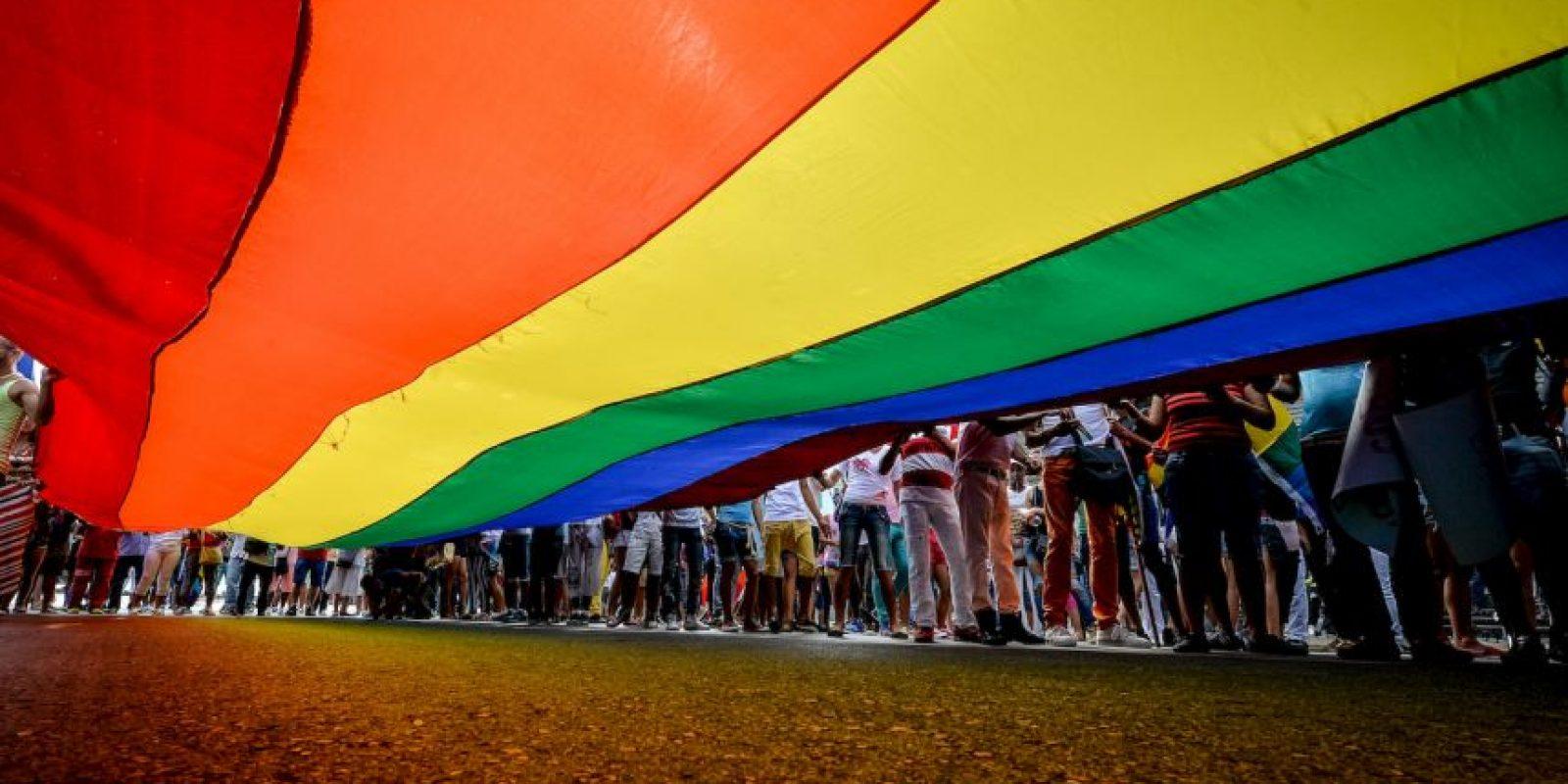Parada gay en Cuba. Foto:AFP