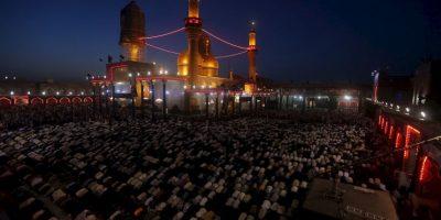 Peregrinos musulmanes en Irak. Foto:AFP