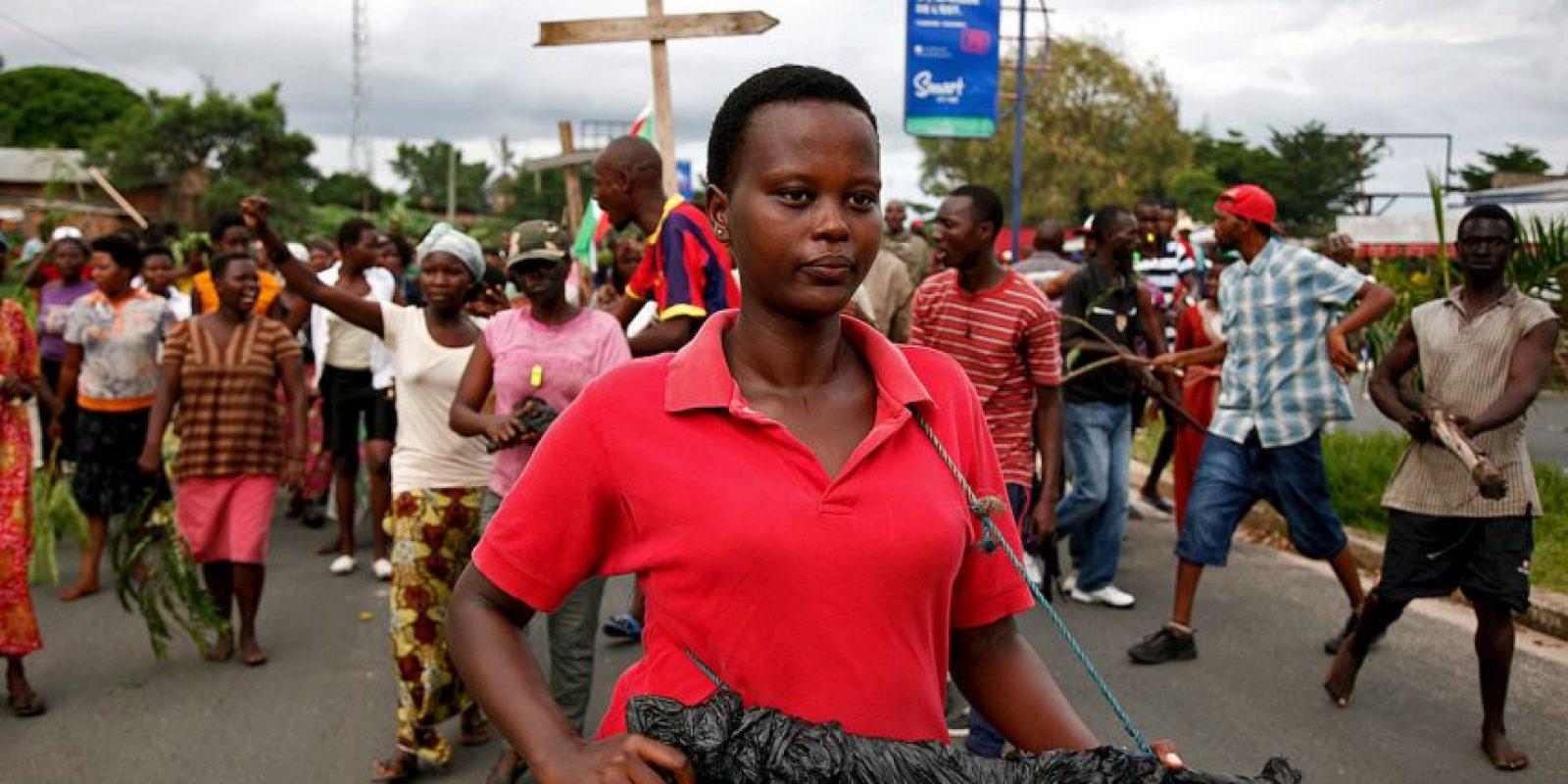 Intento de golpe de estado en Burundi. Foto:AFP