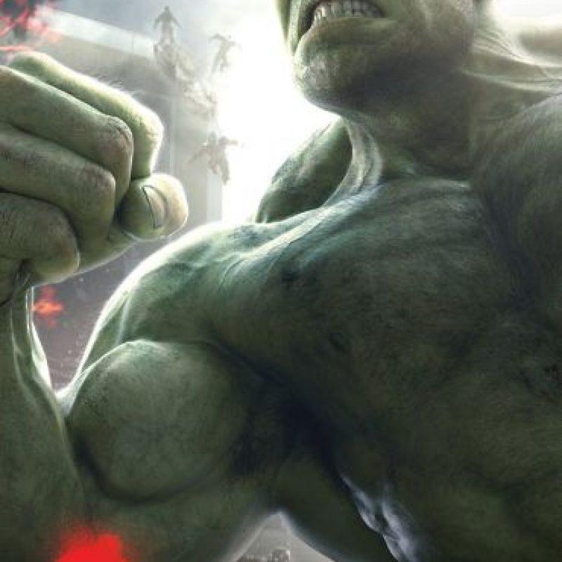 """Y """"Bruce Jenner"""" se transforma en """"Hulk"""" Foto:vía facebook.com/avengers"""