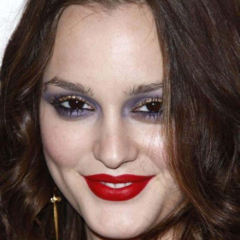 Aquí, resaltando ojos y labios. Foto:vía Getty Images