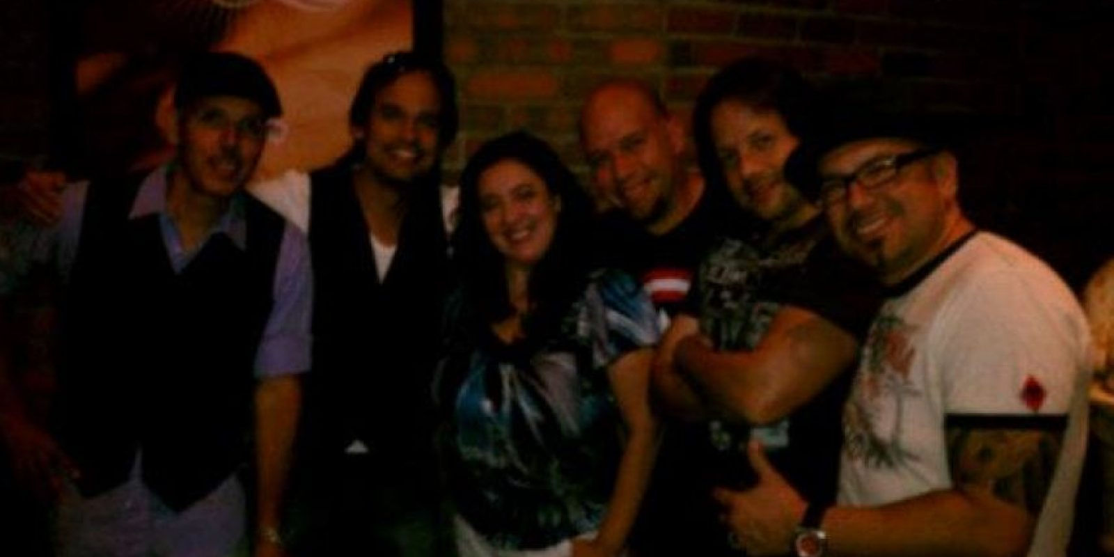 Richie, Kenny y Gabriel. Foto:vía Facebook/Kenny Bass