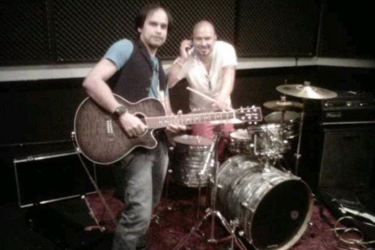 En 2012 se reunieron tres miembros de la banda. Foto:vía Facebook/Kenny Bass