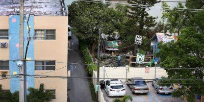 La casa de madera está ubicada en la avenida Brickell de Miami. Foto:Getty Images