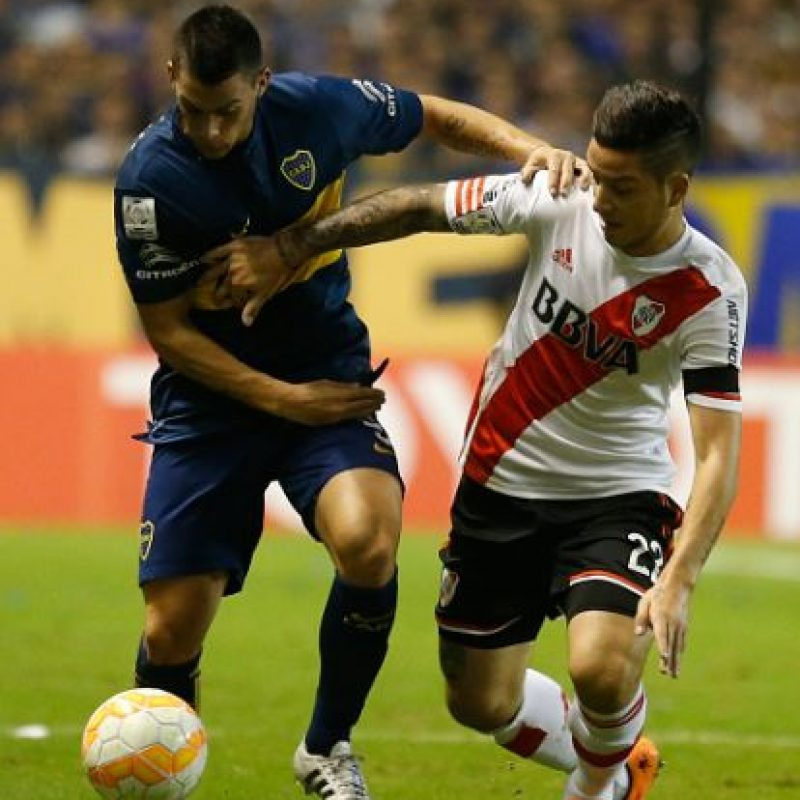 Pero el global favorece a River Plate 1-0. Foto: Getty Images
