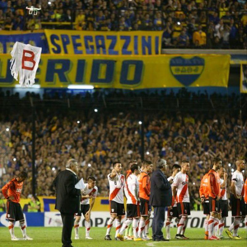 Y el partido fue suspendido oficialmente. Foto:Getty Images