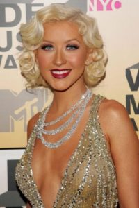 """De """"Marilyn"""" bronceada. Foto:vía Getty Images"""